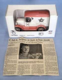 VTG CMS ERTL 1993 ALL STAR GAME DIE CAST TRUCK BANK LE