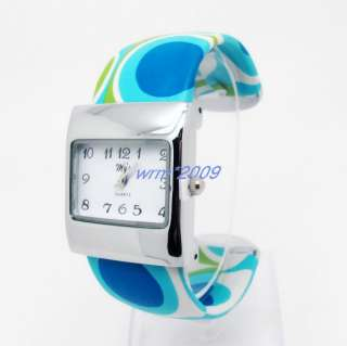 Fashion Women Lady Bangle Cuff Watch SH37F
