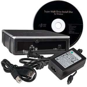 EXTERNAL DUAL LAYER USB DVD DVDRW R/RW BURNER WRITER