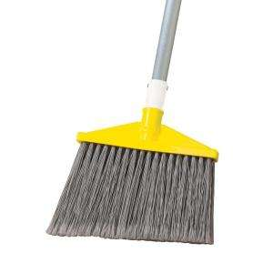 Rubbermaid Commercial Products Angle Broom with Aluminum Handle FG