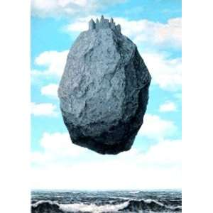 Rene Magritte   Das Pyrenäenschloss Poster Kunstdruck (70 x 50cm
