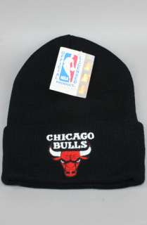 Vintage Deadstock Chicago Bulls BeanieBlk : Karmaloop   Global