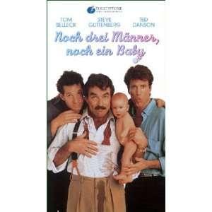 Drei Männer und ein Baby   Double Feature [VHS] Tom SelleckTed