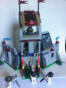 Custom Lego Knights Kingdom Castle with 6 Minifigures