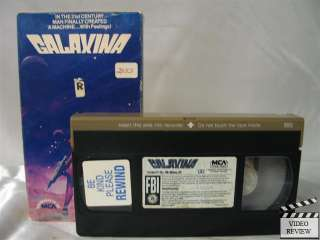 Galaxina VHS Dorothy R. Stratten, Stephen Macht