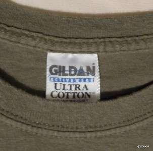 Mens T Shirt United States Marine Corps Large Cotton