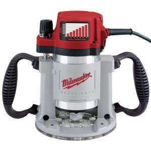 Milwaukee 3 1/2 Max HP Fixed Base Production Router 5625 20 at The