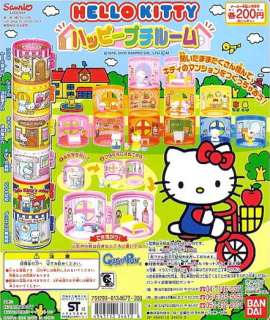 you for bidding a set of SIX hello kitty Figure stacking house tower