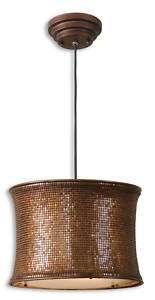Copper/Metallic/Bronze Hanging Metal Pendant Light