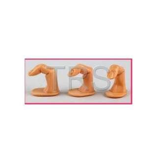 Nail Art Training Practice Finger False Tips Display #007
