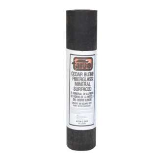Fiberglass Mineral Surfaced Roll Roofing 24/008016 at The Home Depot