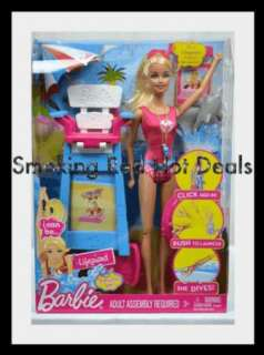Can Be Lifeguard Doll Dolphin Diving Chair Girls Beach Summer Toy New