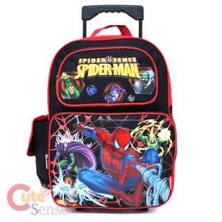 Spiderman School Roller Backpack Rolling Bag Monster 1