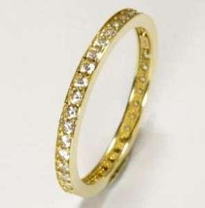 ECHT GOLD *** Zirkonia Ring Goldring Memory  Ring