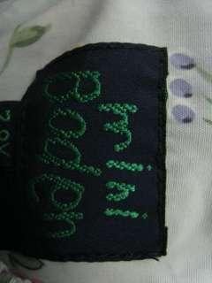 MINI BODEN Girls Blue Floral Print Dress Sz 7/8
