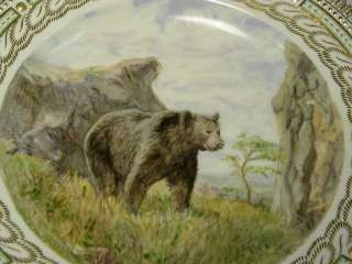 FINE, RETICULATED, BEAR SERIES: ROYAL COPENHAGEN PLATE, URSUS ENARCTOS