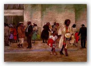 AFRICAN AMERICAN ART After Service Brenda Joysmith