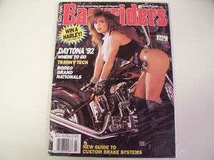 Easyriders Magazine March 1992 # 225 Very Good