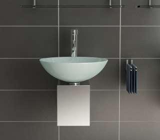 waschtisch waschbecken edelstahl glas klein g ste wc. Black Bedroom Furniture Sets. Home Design Ideas