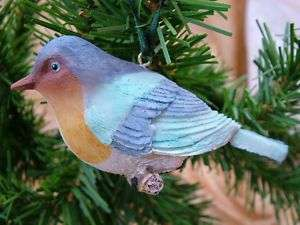 New Blue Song Bird Birds Christmas Tree Ornament