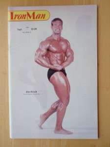 IRONMAN bodybuilding muscle fitness magazine/ALAN KIRSCH 9 84
