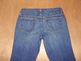 Womens GAP Straight Boot cut jeans size 10 Stretch