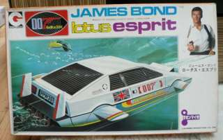 007 JAMES BOND The Spy Who Loved Me LOTUS ESPRIT JAPAN