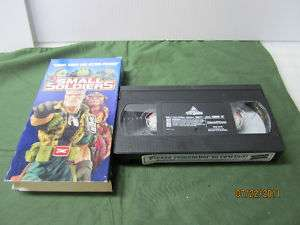 Small Soldiers VHS 1998 Clamshell Kirsten Dunst 096898401838