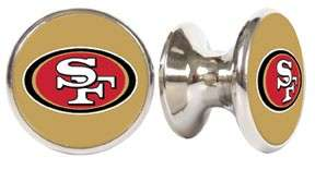 San Francisco 49ers Stainless Steel Dresser Knob / Pull