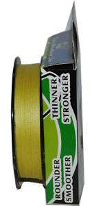 Spectra Braid Fishing Line 300 YD 20 LB Yellow