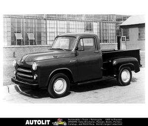 1954 Dodge C1 Pickup Truck Factory Photo