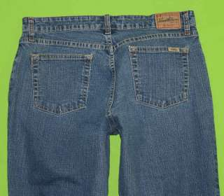 Cut Mid Rise sz x 31 Stretch Womens Blue Jeans Denim Pants HD72