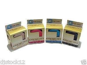 Rolls of 2 Kinesio Tape Gold/ 1Beige1Red1Blue1Black