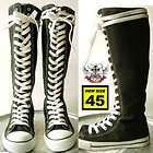 KERA PUNK EMO Gothic Goth KNEE HIGH Canvas Sneaker Boot items in