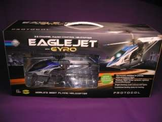 RADIO CONTROL 3.5 CHANNEL PROTOCOL RC HELICOPTER EAGLE JET WITH GYRO
