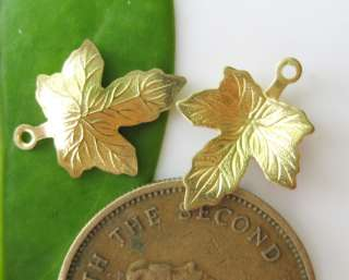 wholesale Brass Canada Maple leaves Pendants,Filigrees cf163