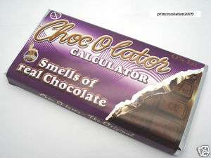 Chocolate Scent/ Smell/ / Packing Solar Calculator