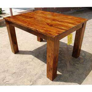 Santa Cruz Mission Solid Wood Dining Room Table