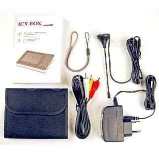 Fernseher Icy Box IB MP102 Media Player und Radio 4250078184607