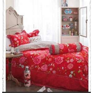 Bettwäsche PIP STUDIO Birds of Paradise Rot Red 135x200: