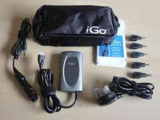 iGo Universal 40W Netbook Travel Charger AC & tips NEW