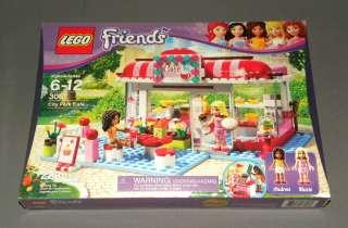 LEGO Friends Set 3061 City Park Cafe w Andrea & Marie Figures Sealed