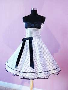 Abiball 50s Konfirmation Kleid Abendkleid Brautjungfer