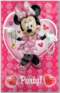 Inviti con busta Minnie 6 pz Walt Disney