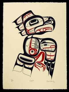 Eagle Northwest Coast Native American Print