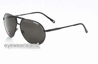 Carrera Turbo Sunglasses Semi Matte Black Shades