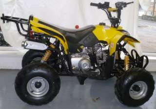 50cc 4 Stroke Quad Bike   ENFORCER YELLOW w/ Reverse (price includes