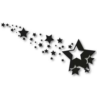 ** Retro Auto Aufkleber Sterne Car Tuning Sticker Motiv Star