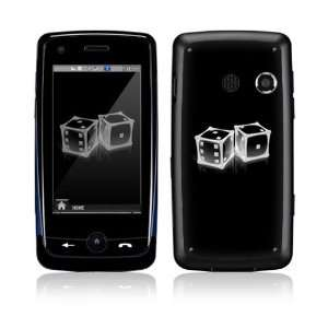 Crystal Dice Decorative Skin Cover Decal Sticker for LG