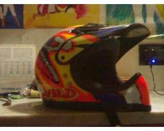 Casco da moto cross mai usato a Oristano    Annunci